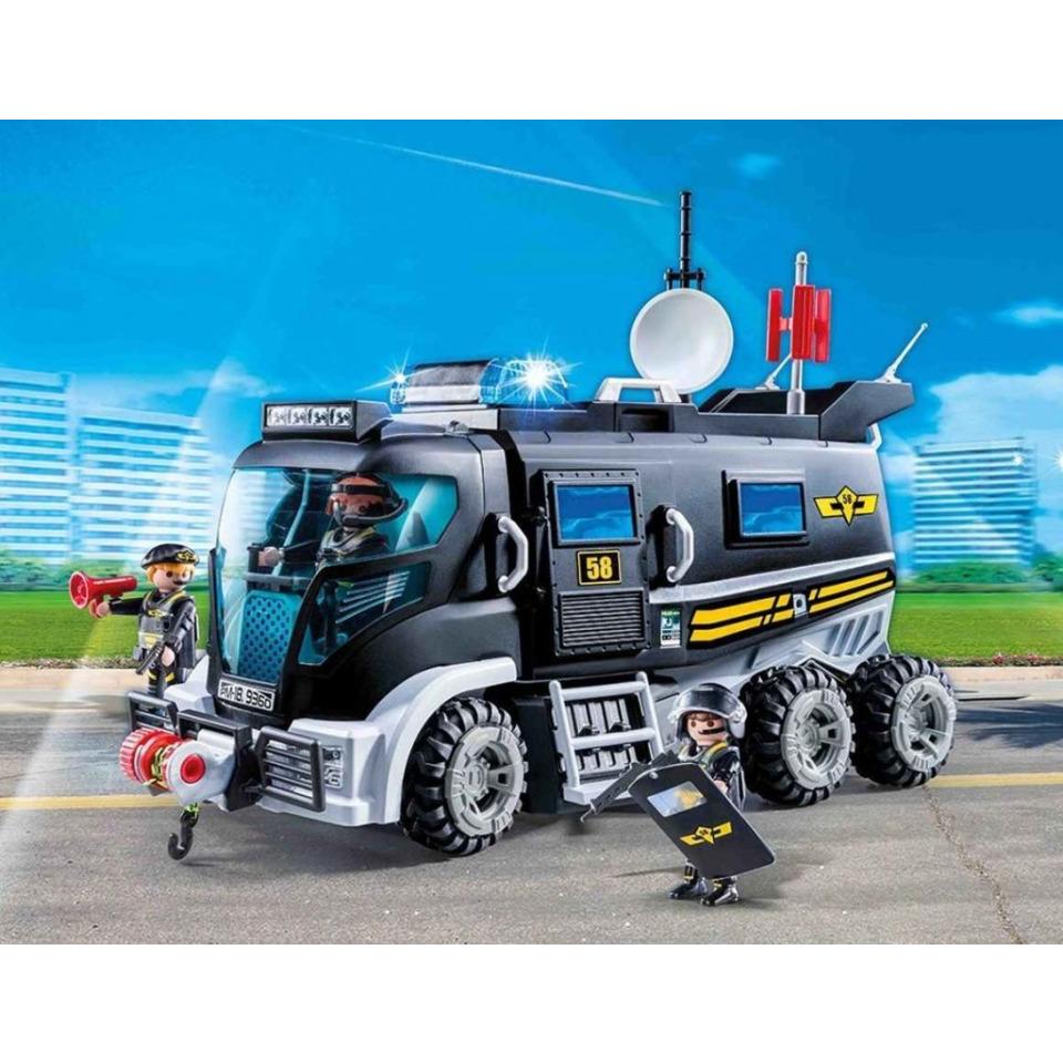 Obrázek 1 produktu Playmobil 9360 Speciální policejní zásahové vozidlo