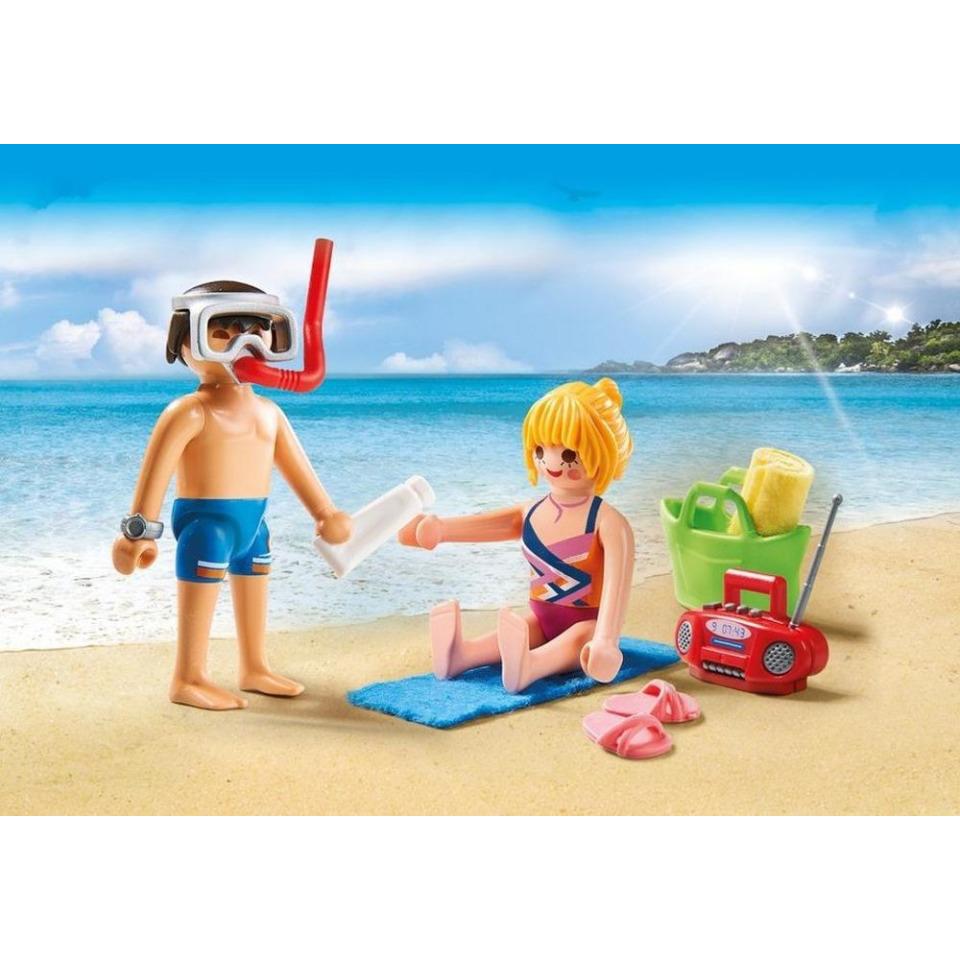Obrázek 1 produktu Playmobil 9449 Návštěvníci pláže
