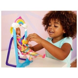 Obrázek 3 produktu Barbie princezna s duhovou houpačkou, Mattel FJD06