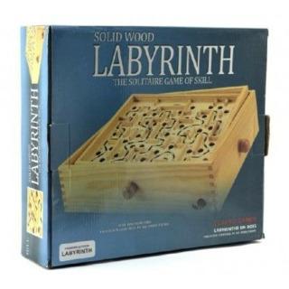 Obrázek 2 produktu Labyrint dřevěný 32,5 x 32,5cm