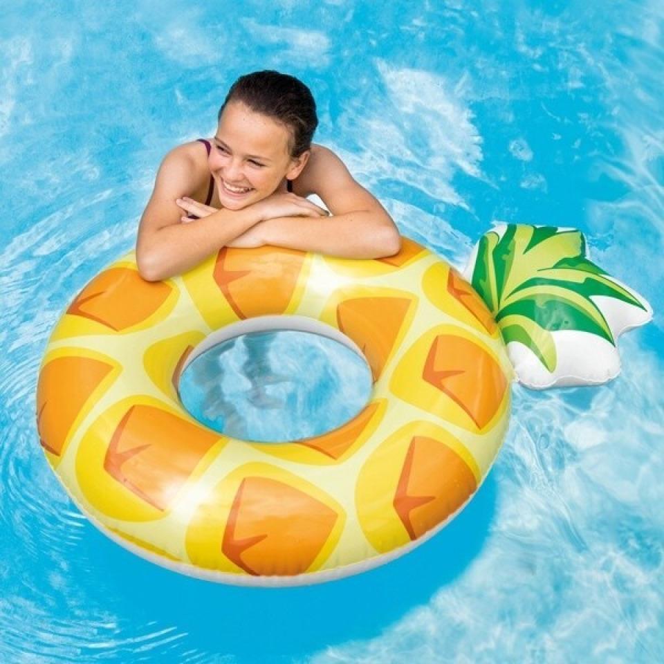 Obrázek 1 produktu Intex 56266 Nafukovací kruh ananas 1,17m x 0,86m