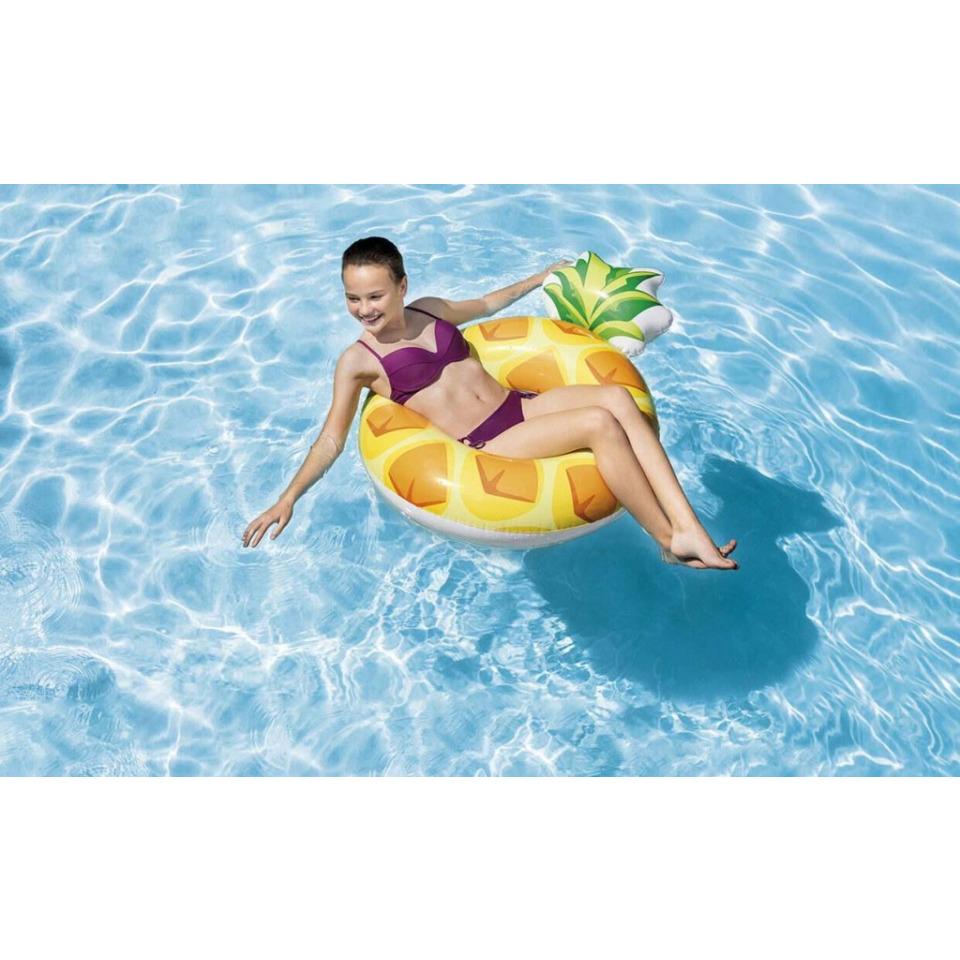 Obrázek 2 produktu Intex 56266 Nafukovací kruh ananas 1,17m x 0,86m