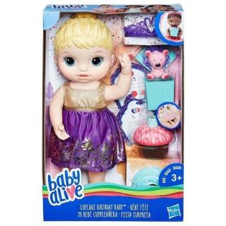 Obrázek 3 produktu Baby Alive Narozeninová blonďatá panenka