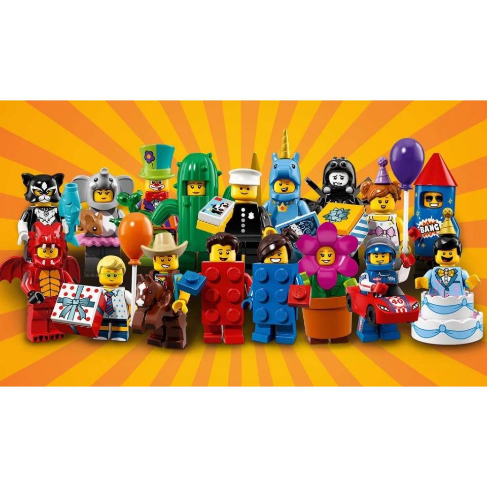 Obrázek 1 produktu LEGO 71021 Ucelená kolekce 17 minifigurek