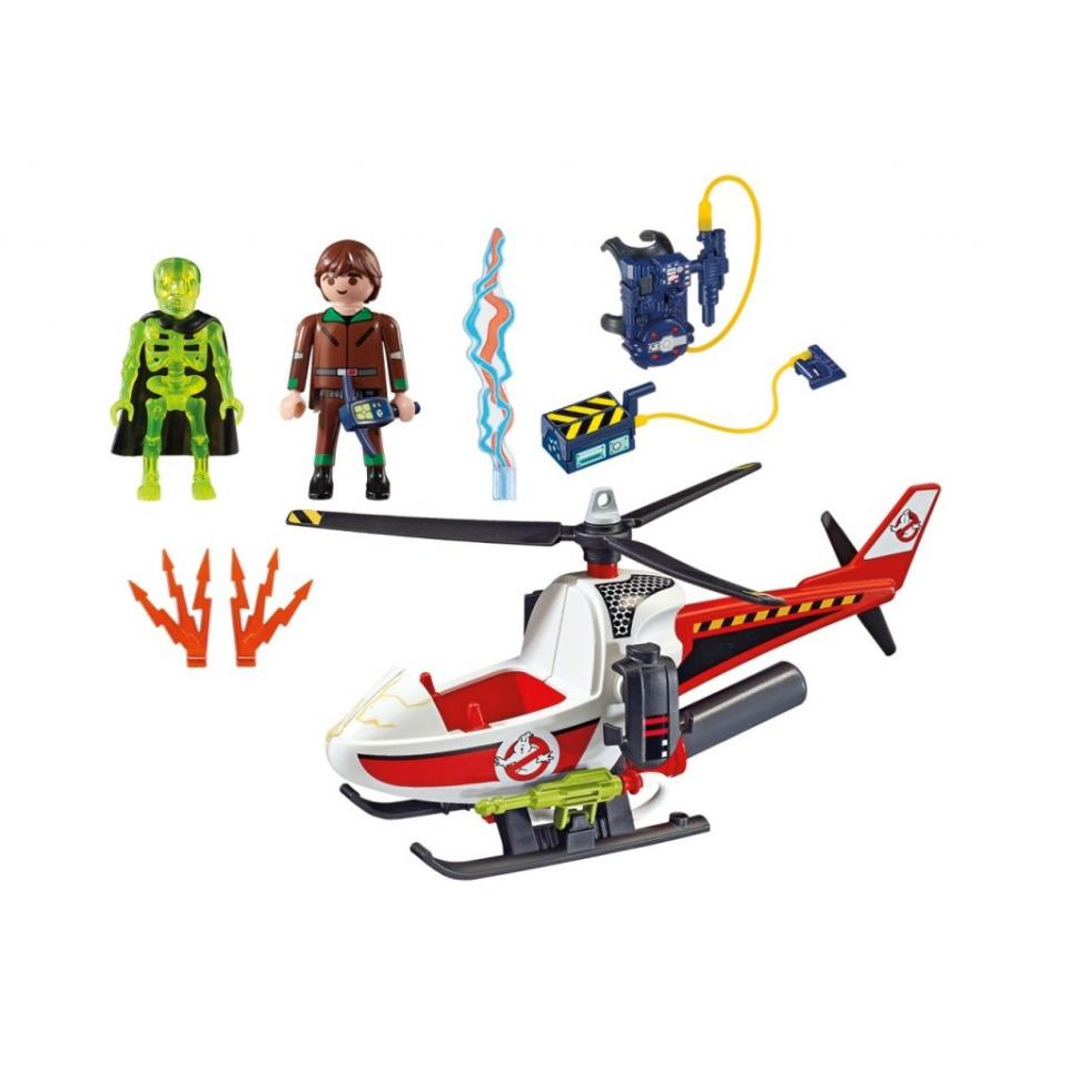 Obrázek 1 produktu Playmobil 9385 The Real Ghostbusters Venkman s helikoptérou