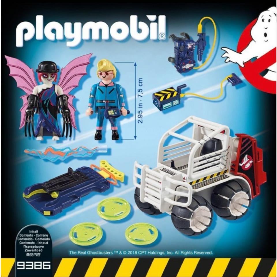 Obrázek 1 produktu Playmobil 9386 The Real Ghostbusters Spengler ve vozidle s klecí