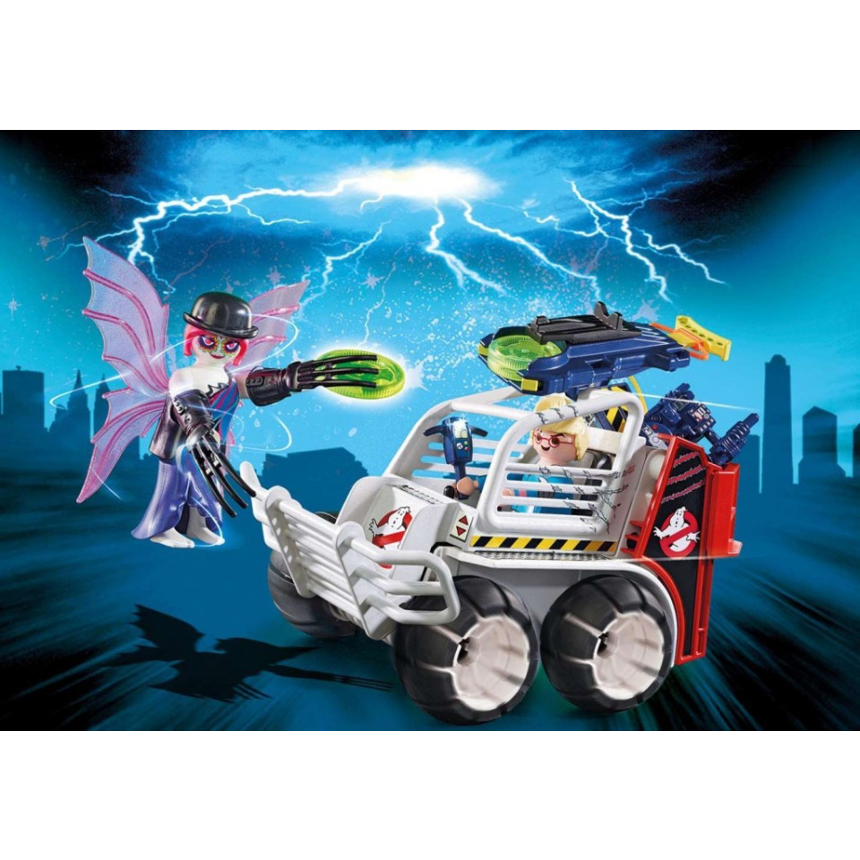 Obrázek 2 produktu Playmobil 9386 The Real Ghostbusters Spengler ve vozidle s klecí