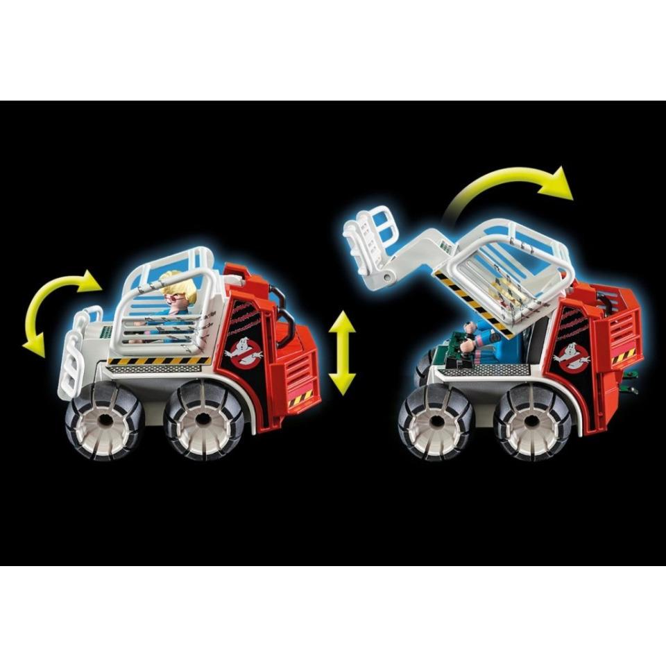 Obrázek 4 produktu Playmobil 9386 The Real Ghostbusters Spengler ve vozidle s klecí