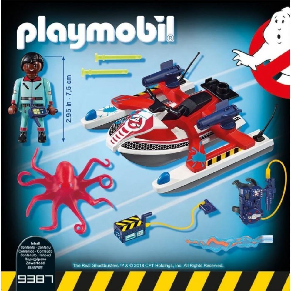 Obrázek 1 produktu Playmobil 9387 The Real Ghostbusters Zeddemore na vodním skútru