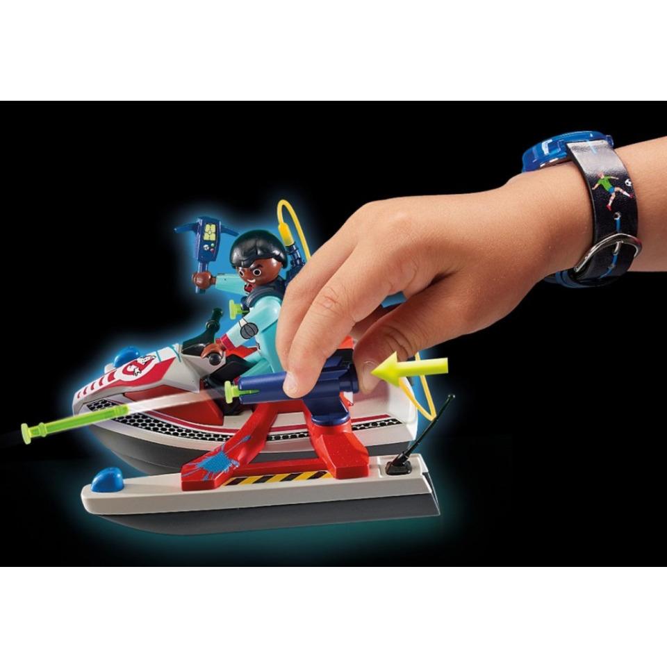 Obrázek 2 produktu Playmobil 9387 The Real Ghostbusters Zeddemore na vodním skútru