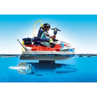 Obrázek 5 produktu Playmobil 9387 The Real Ghostbusters Zeddemore na vodním skútru