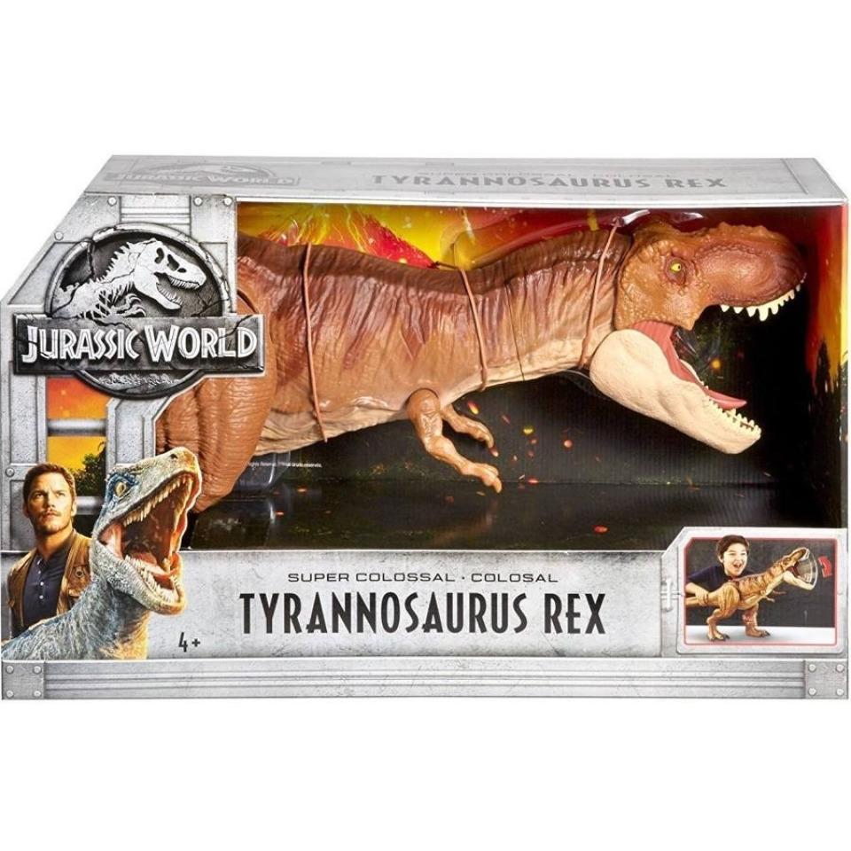Obrázek 4 produktu Jurský svět, Tyranosaurus Rex 90cm, Mattel FMM63