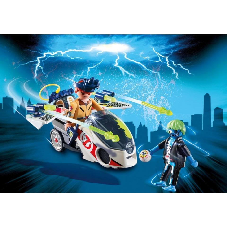 Obrázek 2 produktu Playmobil 9388 The Real Ghostbusters Stantz a Skybike