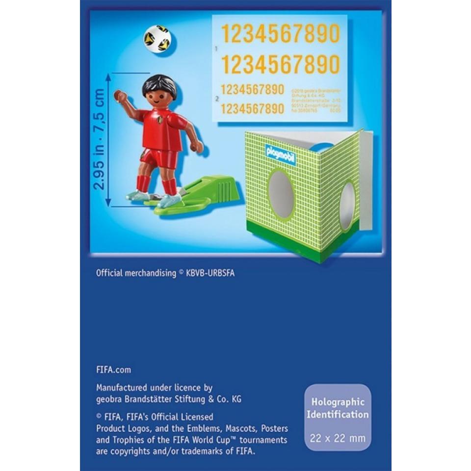 Obrázek 1 produktu Playmobil 9509 Fotbalista Belgie