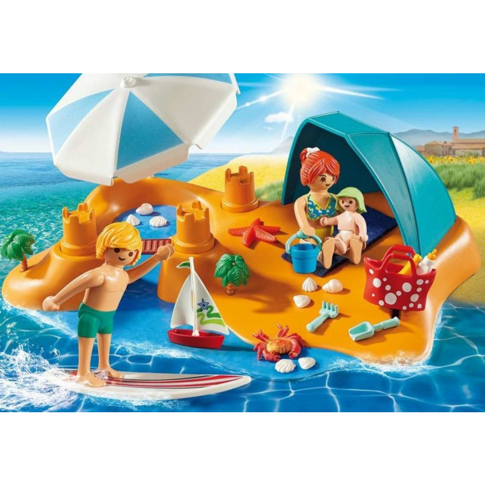 Obrázek 3 produktu Playmobil 9425 Rodina na pláži
