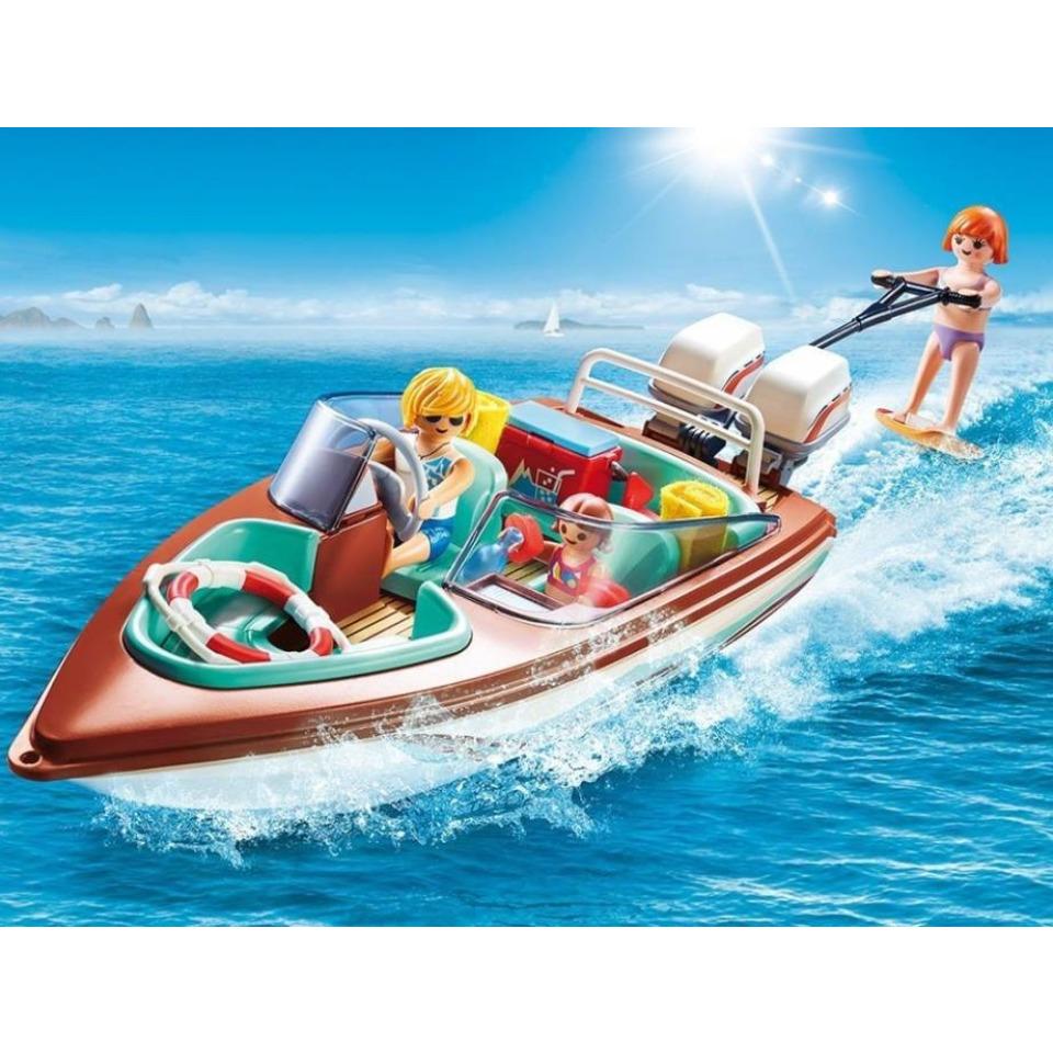 Obrázek 1 produktu Playmobil 9428 Vodní člun s motorem