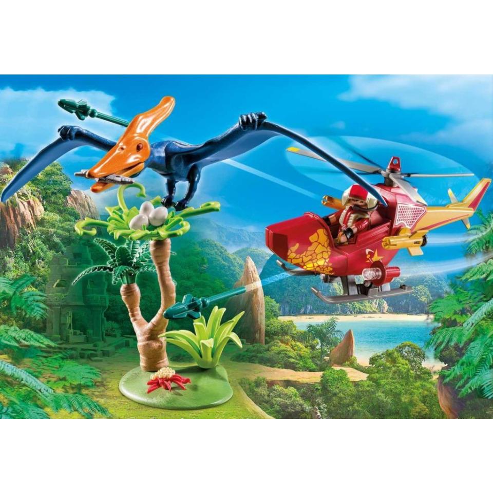 Obrázek 2 produktu Playmobil 9430 Vrtulník s Pterodactylem