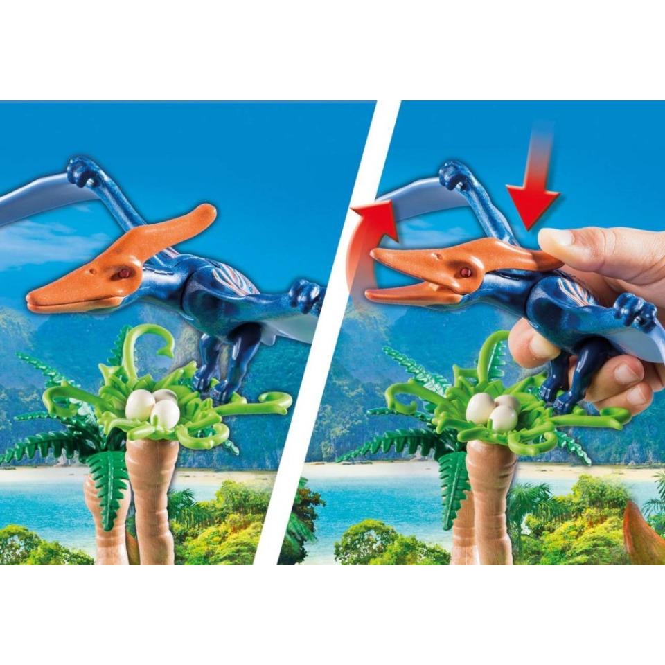 Obrázek 4 produktu Playmobil 9430 Vrtulník s Pterodactylem