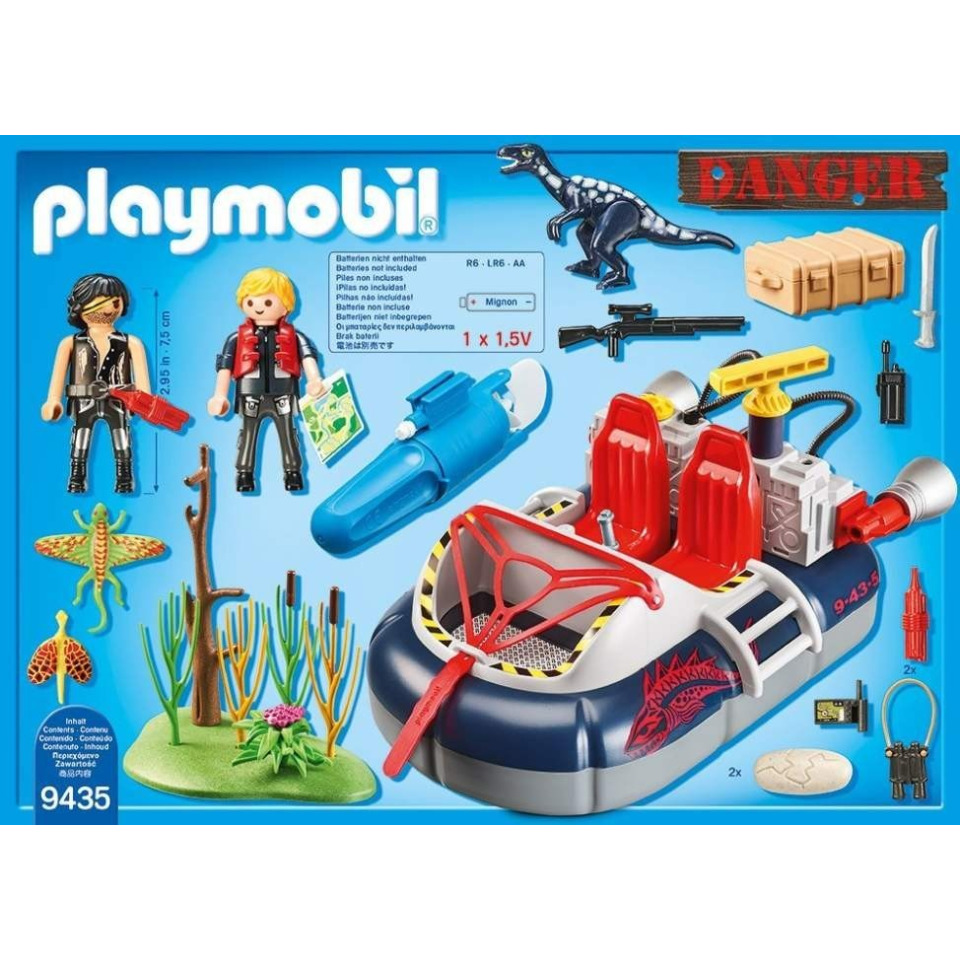 Obrázek 4 produktu Playmobil 9435 Nafukovací vznášedlo s motorem