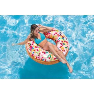 Obrázek 2 produktu Intex 56263 Nafukovací kruh donut s posypem 99cm