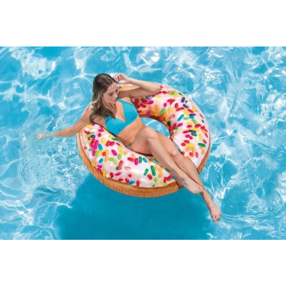 Obrázek 1 produktu Intex 56263 Nafukovací kruh donut s posypem 99cm