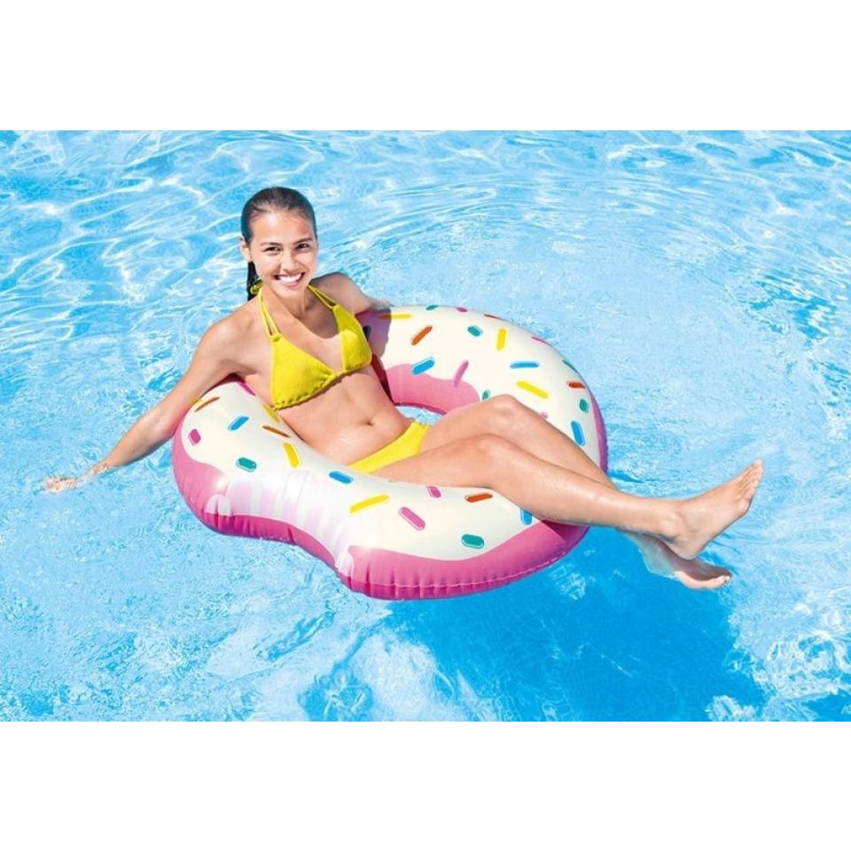 Obrázek 1 produktu Intex 56265 Nafukovací kruh donut nakousnutý 94cm