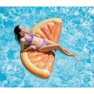 Obrázek 2 produktu Intex 58763 Nafukovací matrace plátek pomeranče 1,78m x 85cm