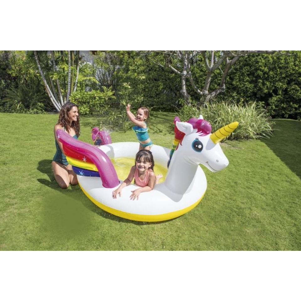 Obrázek 1 produktu Intex 57441 Dětský bazén Jednorožec 272x193x104 cm