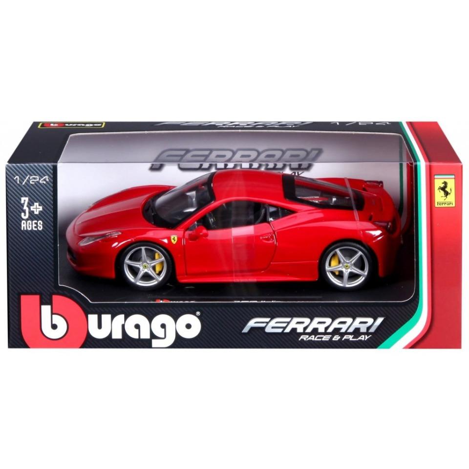 Obrázek 2 produktu Burago FERRARI F12 Berlinetta 1:24 červené