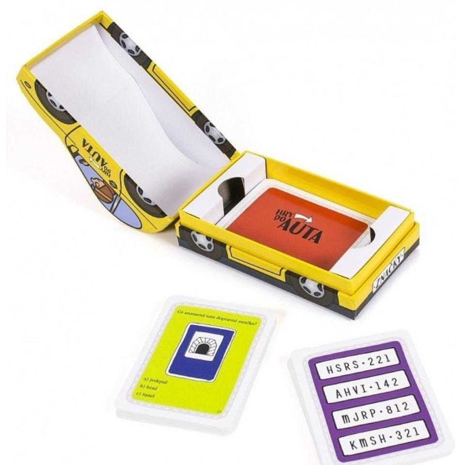 Obrázek 1 produktu Albi Hra do auta - Značky