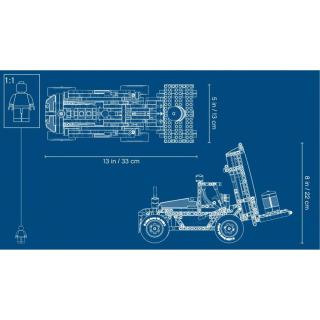 Obrázek 5 produktu LEGO TECHNIC 42079 Výkonný vysokozdvižný vozík