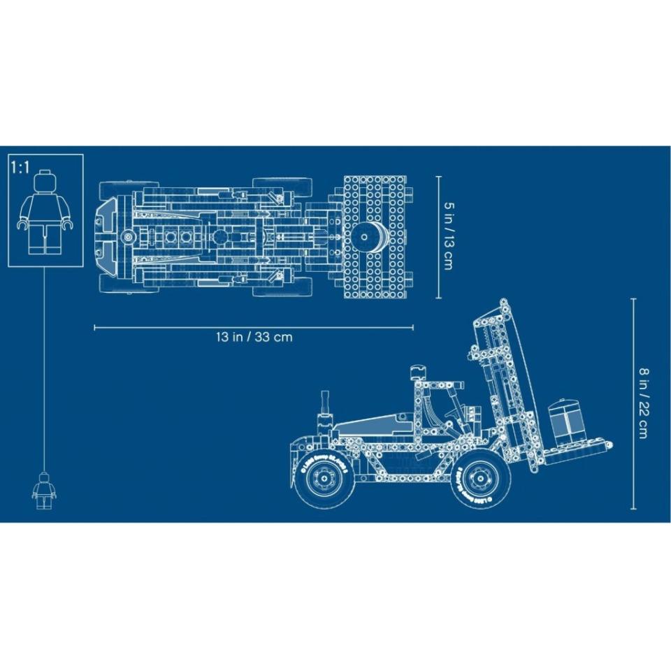 Obrázek 4 produktu LEGO TECHNIC 42079 Výkonný vysokozdvižný vozík