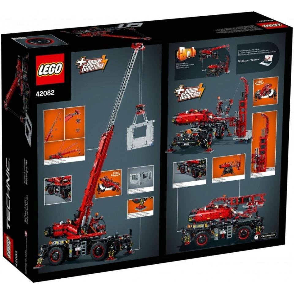Obrázek 1 produktu LEGO TECHNIC 42082 Terénní jeřáb