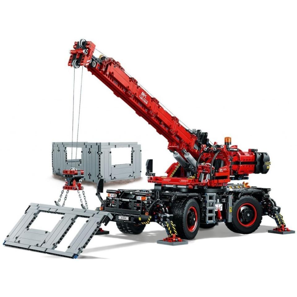 Obrázek 3 produktu LEGO TECHNIC 42082 Terénní jeřáb