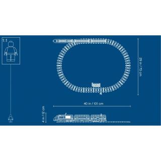 Obrázek 5 produktu LEGO CITY 60197 Osobní vlak