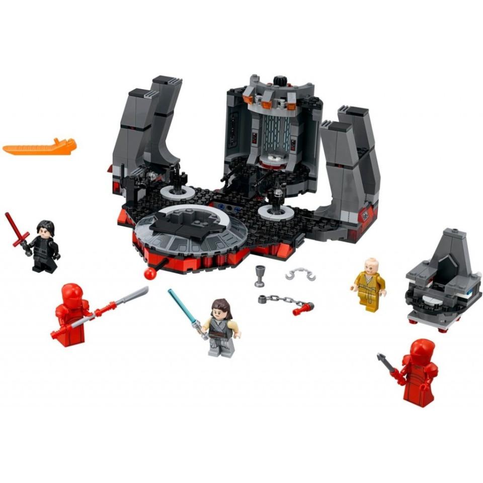 Obrázek 2 produktu LEGO Star Wars 75216 Snokeův trůní sál