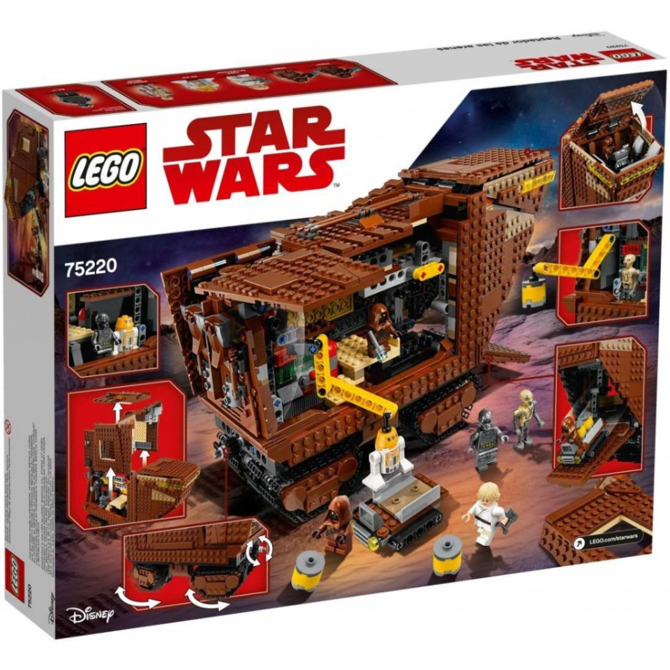 Obrázek 1 produktu LEGO Star Wars 75220 Sandcrawler™