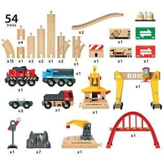 Obrázek 2 produktu BRIO 33097 Nákladní železniční luxusní sada