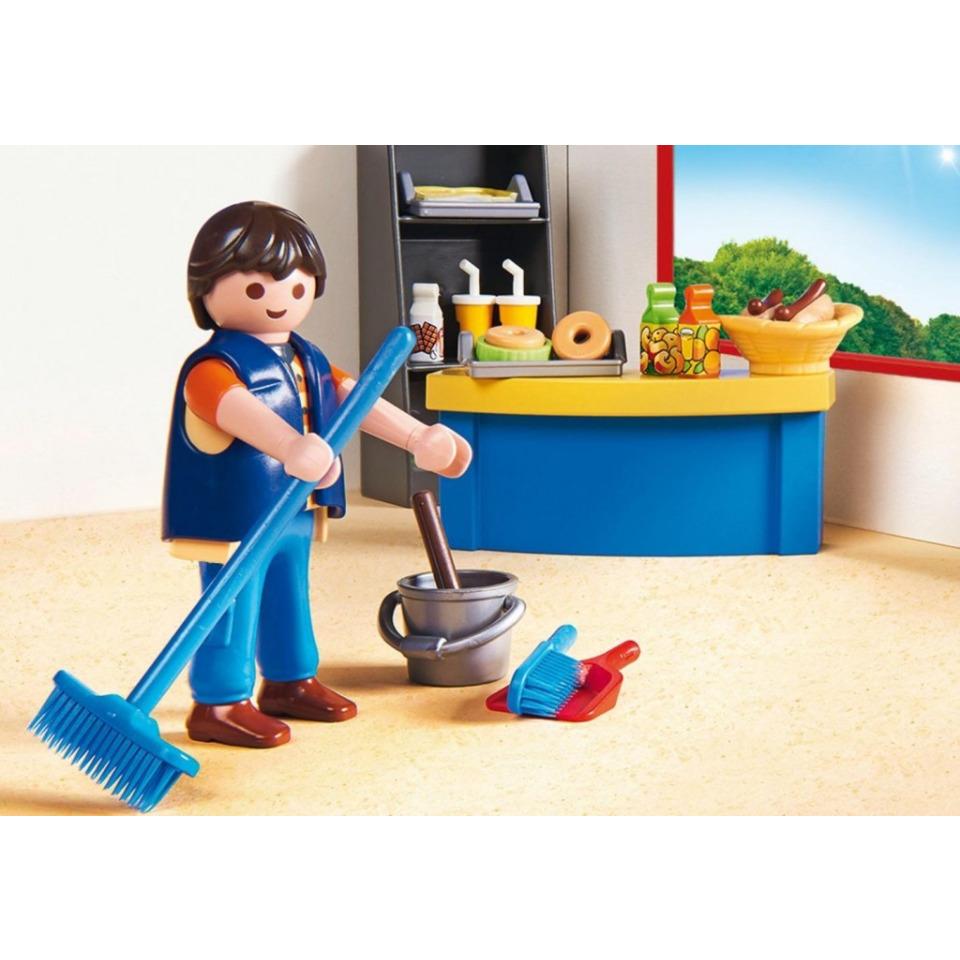 Obrázek 2 produktu Playmobil 9457 Školník a stánek s občerstvením