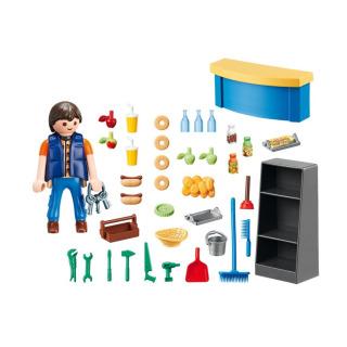 Obrázek 4 produktu Playmobil 9457 Školník a stánek s občerstvením