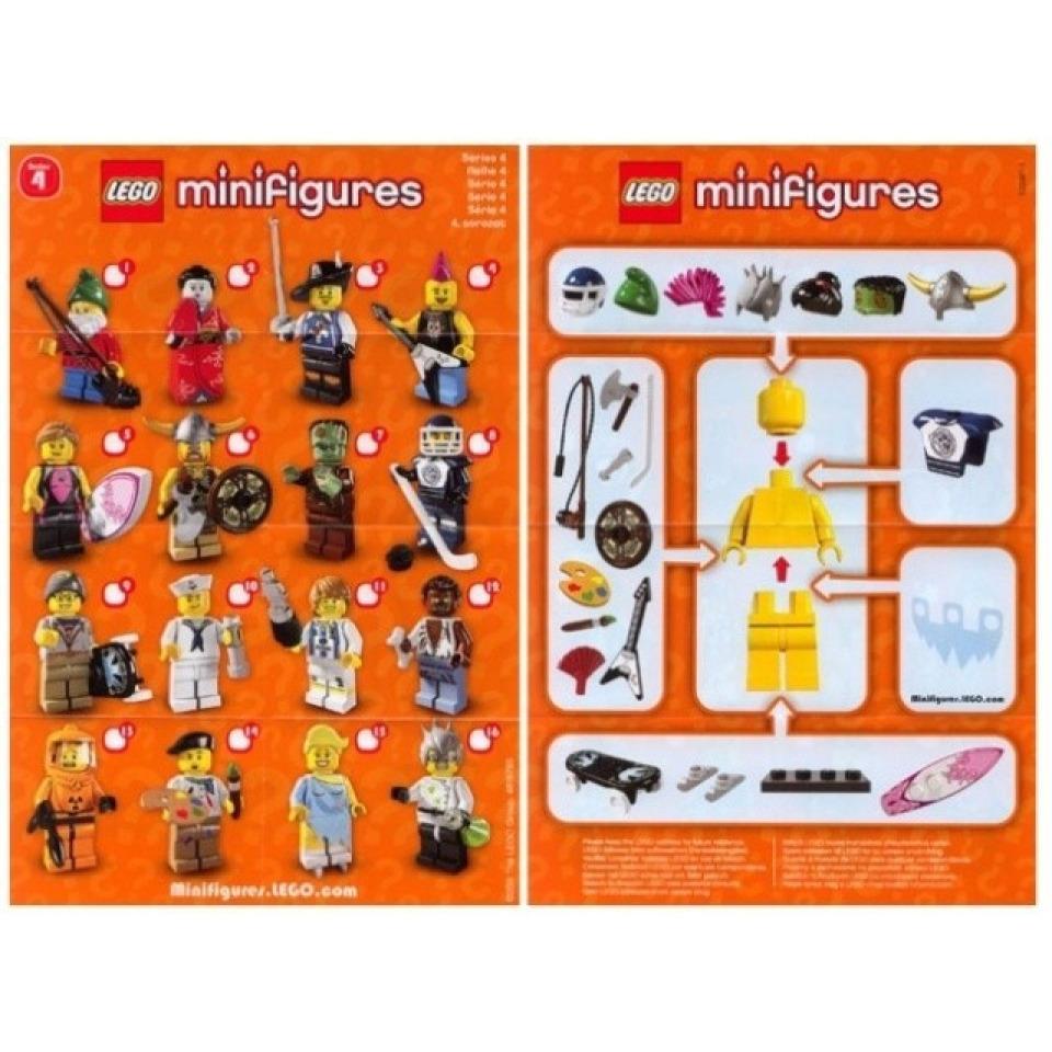 Obrázek 2 produktu LEGO 8804 Kolekce 16 minifigurek série 4