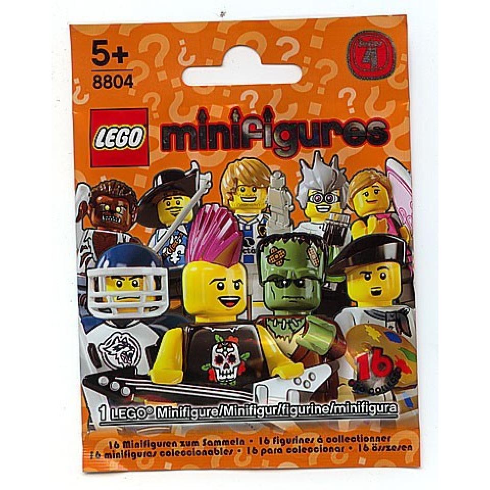 Obrázek 3 produktu LEGO 8804 Kolekce 16 minifigurek série 4