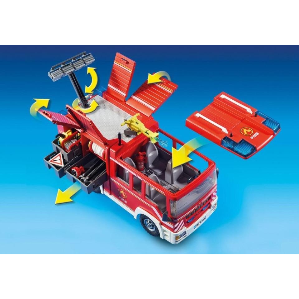 Obrázek 2 produktu Playmobil 9464 Hasičské auto se stříkačkou