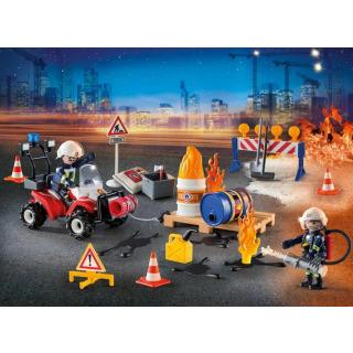 Obrázek 2 produktu Playmobil 9486 Adventní kalendář Zásah hasičů