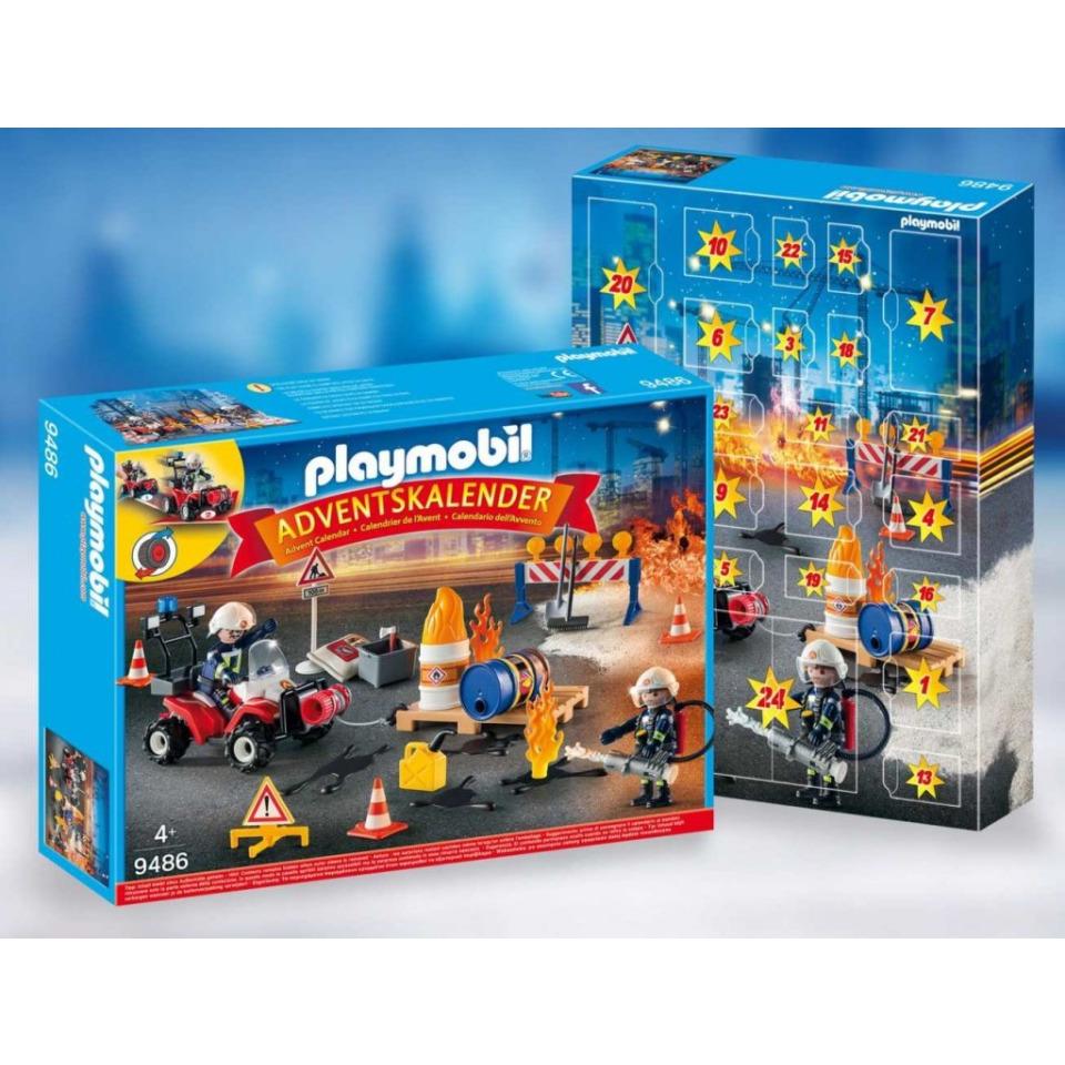 Obrázek 3 produktu Playmobil 9486 Adventní kalendář Zásah hasičů