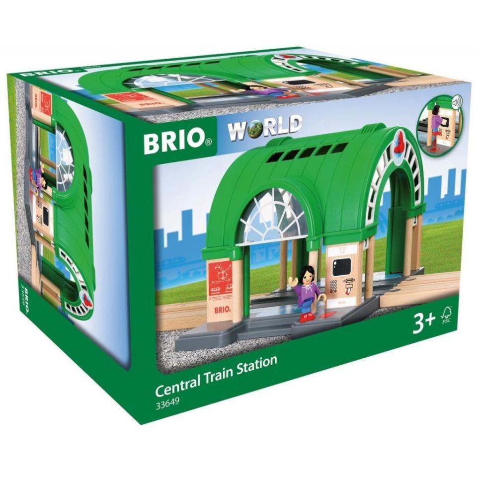Obrázek 1 produktu BRIO 33649 Hlavní vlakové nádraží