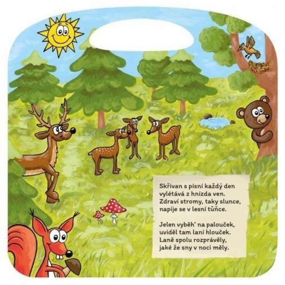 Obrázek 3 produktu Albi Kouzelné čtení Básničky z lesa