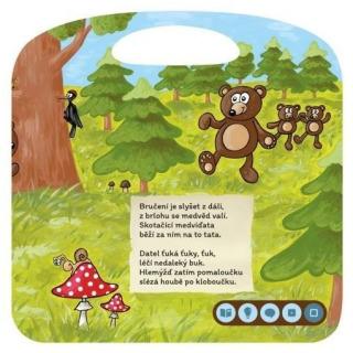 Obrázek 5 produktu Albi Kouzelné čtení Básničky z lesa