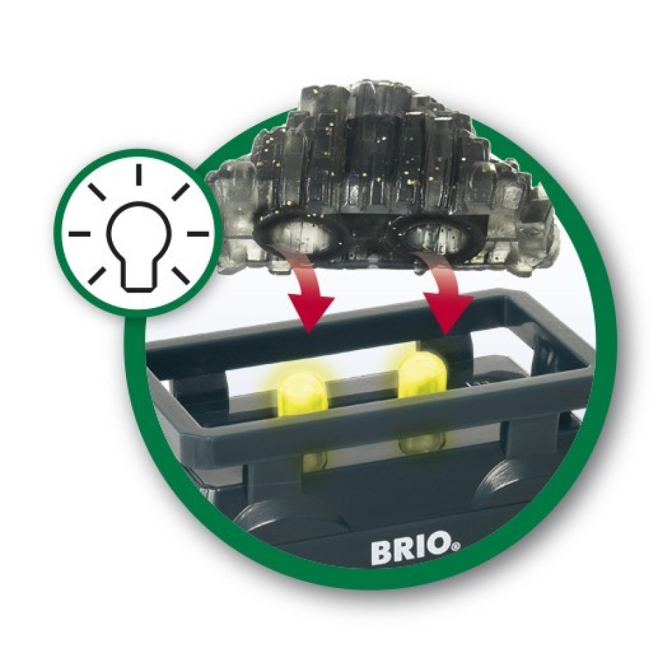 Obrázek 2 produktu BRIO 33896 Svítící vagón se zlatem