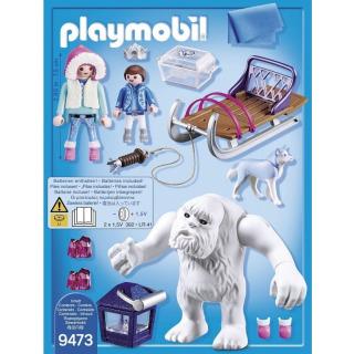 Obrázek 2 produktu Playmobil 9473 Sněžný muž a sáně